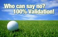 Who Can Say No? 100% validation!