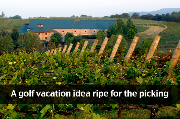 A Golf Vacation Idea Ripe for the Picking!