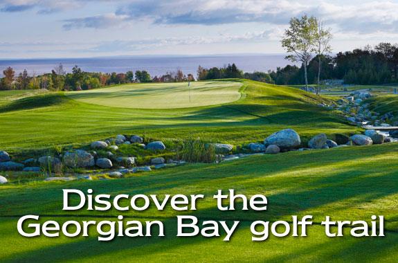 Discover the Georgian Bay Golf Trail