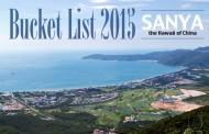 Bucket List 2015 - Sanya- The Hawaii of China