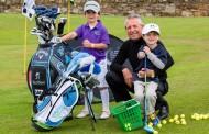 A surprise junior clinic from a golf legend