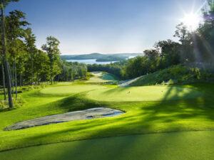 Early morning at 6th hole, Bigwin Island Golf Club