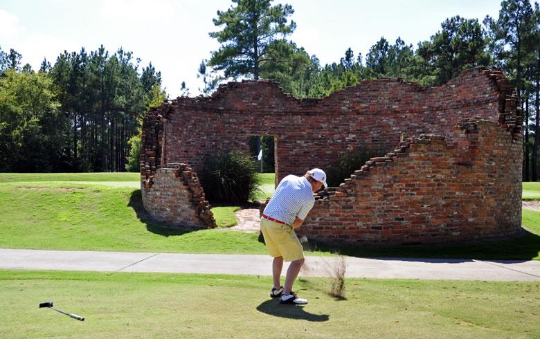 Brad King at The Patriot Golf Course, South Carolina