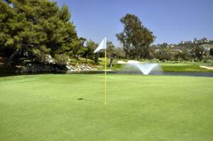 La Costa 15th green flag web