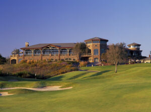 The Crossings at Carlsbad - Hole #9, Par 3 Clubhouse in background