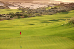 The brawny, wind-swept links at Diamante Dunes is unlike anything else in Los Cabos.
