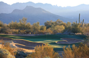 Par-3 7th on Raptor Course at Grayhawk (c) Andrew Penner