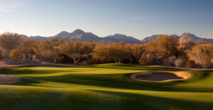 The par-4 6th on the Cholla Course at We-Ko-Pa (c) Andrew Penner