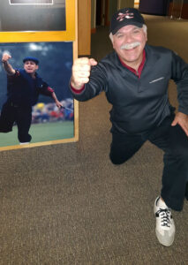 Catching Up with a hero at World Golf Hall of Fame - web