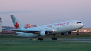Nonstop flights available from Air Canada