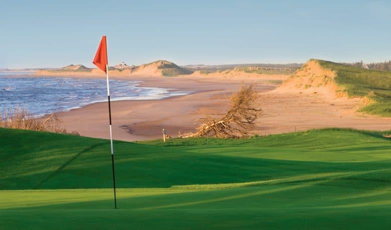 16th at The Links at Crowbush Cove Golf Club, Prince Edward Island