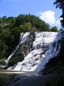 Ithaca Falls on Fall Creek