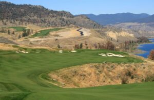 The stunning par-5 8th at Tobiano in Kamloops (c) Andrew Penner