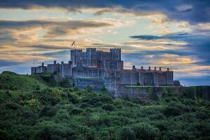 The majestic Dover Castle
