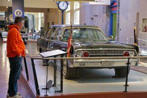 JFK's presidential car, Henry Ford Museum © Peter Ellegard