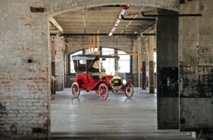 Model T, Ford Piquette Plant, Detroit © Peter Ellegard