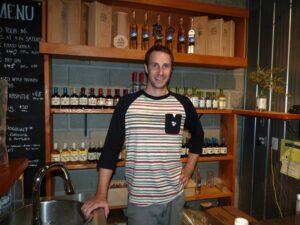Pemberton Distillery owner yler Schramm