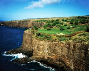 12th hole at Manele Golf Course