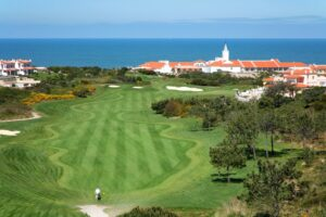 Praia d'El Rey hole 10 next to the Mariott Hotel