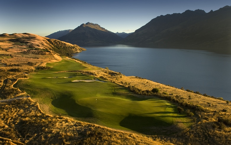 Jack's Point - 18th Hole - New Zealand