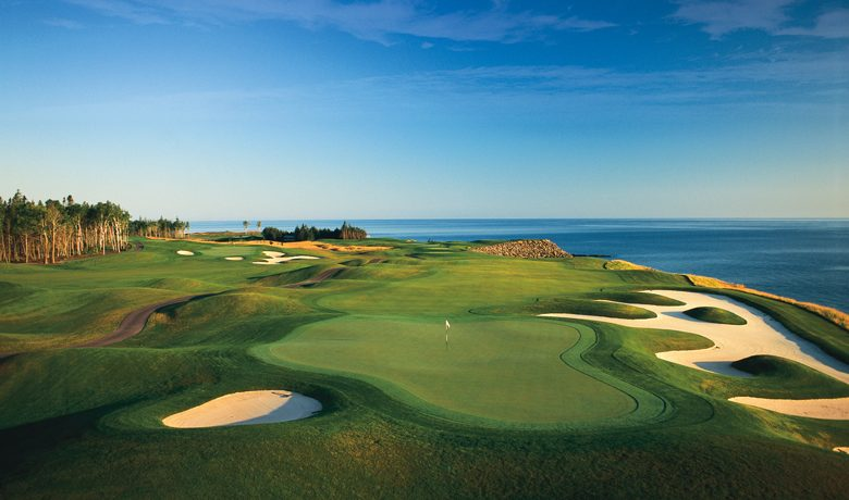 16th Hole at Fox Harb'r Resort, Nova Scotia, Canada