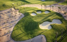 Hole #4 at the Madinat Makadi Golf Resort, Egypt