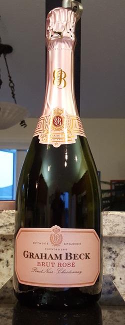 $21.95 - Graham Beck Brut Rosé 2011