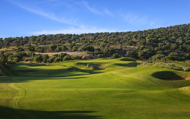 3rd & 1st Hole at The Crete Golf Club, Crete, Greece