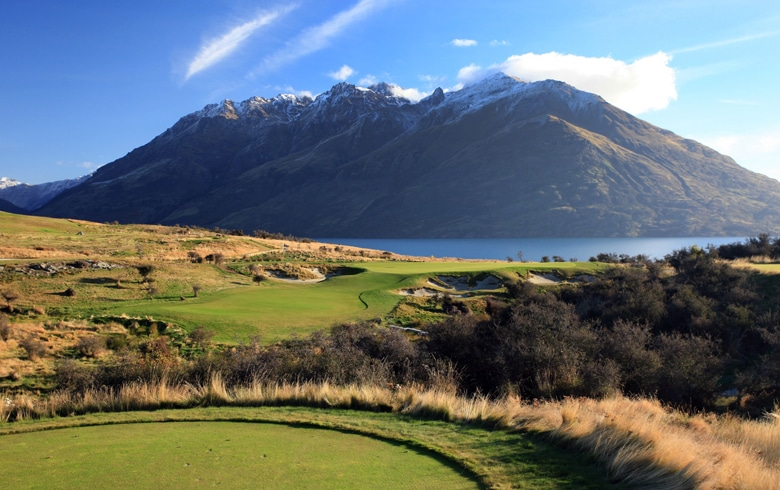 Jack's Point Golf Course, Queenstown, New Zealand