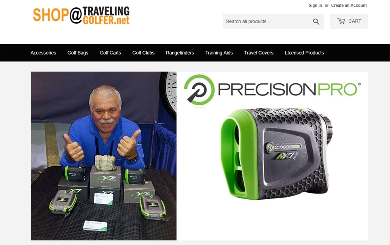 NEW Traveling Golfer E-Store