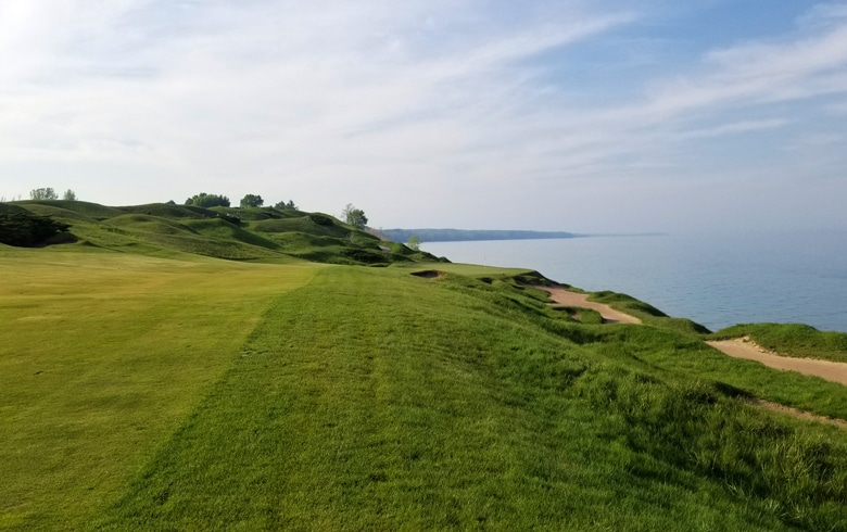 Pete Dye - Artistry on the Lake Michigan Shoreline