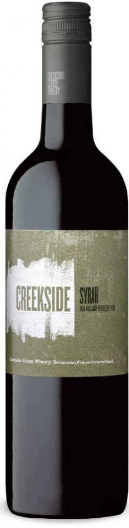 $25.95 - Creekside Syrah, 2016