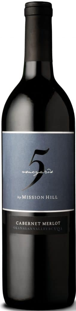 $17.45 - Mission Hill Five Vineyards 2014 Cabernet Merlot
