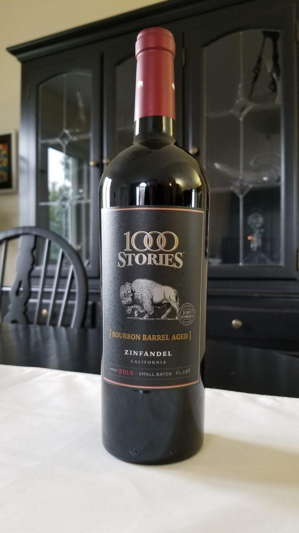 $29.95 - 1000 Stories Bourbon Barrel Aged Zinfandel 2015