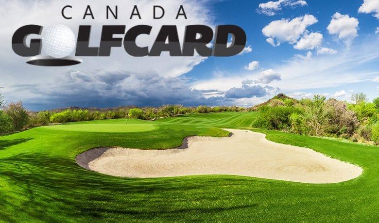 Save BIG with Canada Golf Card