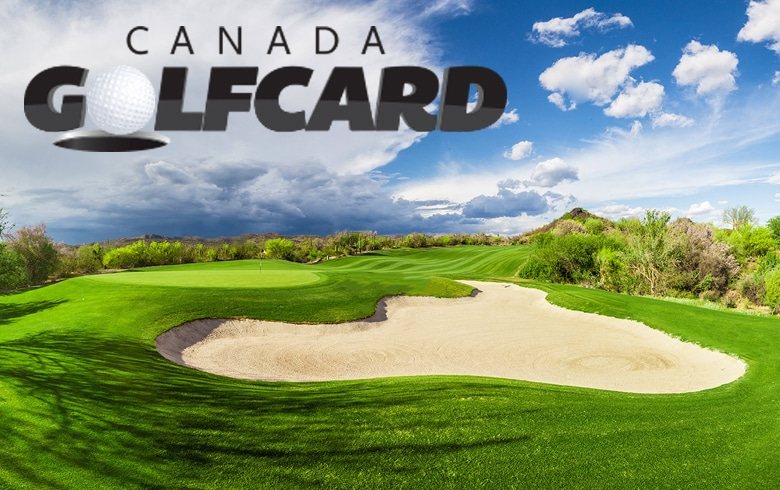 Save BIG with Canada Golf Card