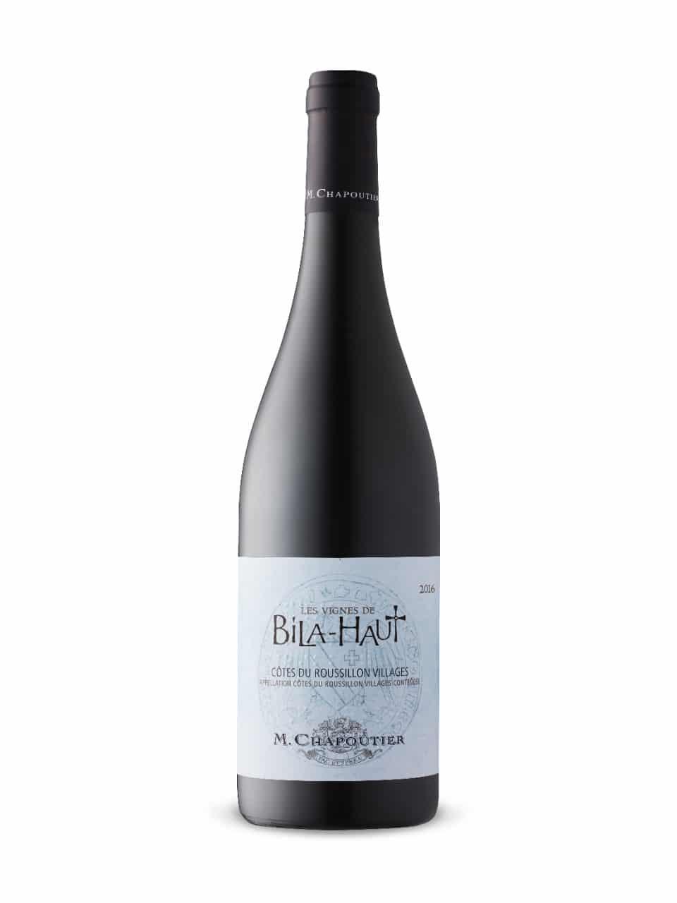 $15.95 - M. Chapoutier Les Vignes DeBila-HautCôtes De Roussillon 2017