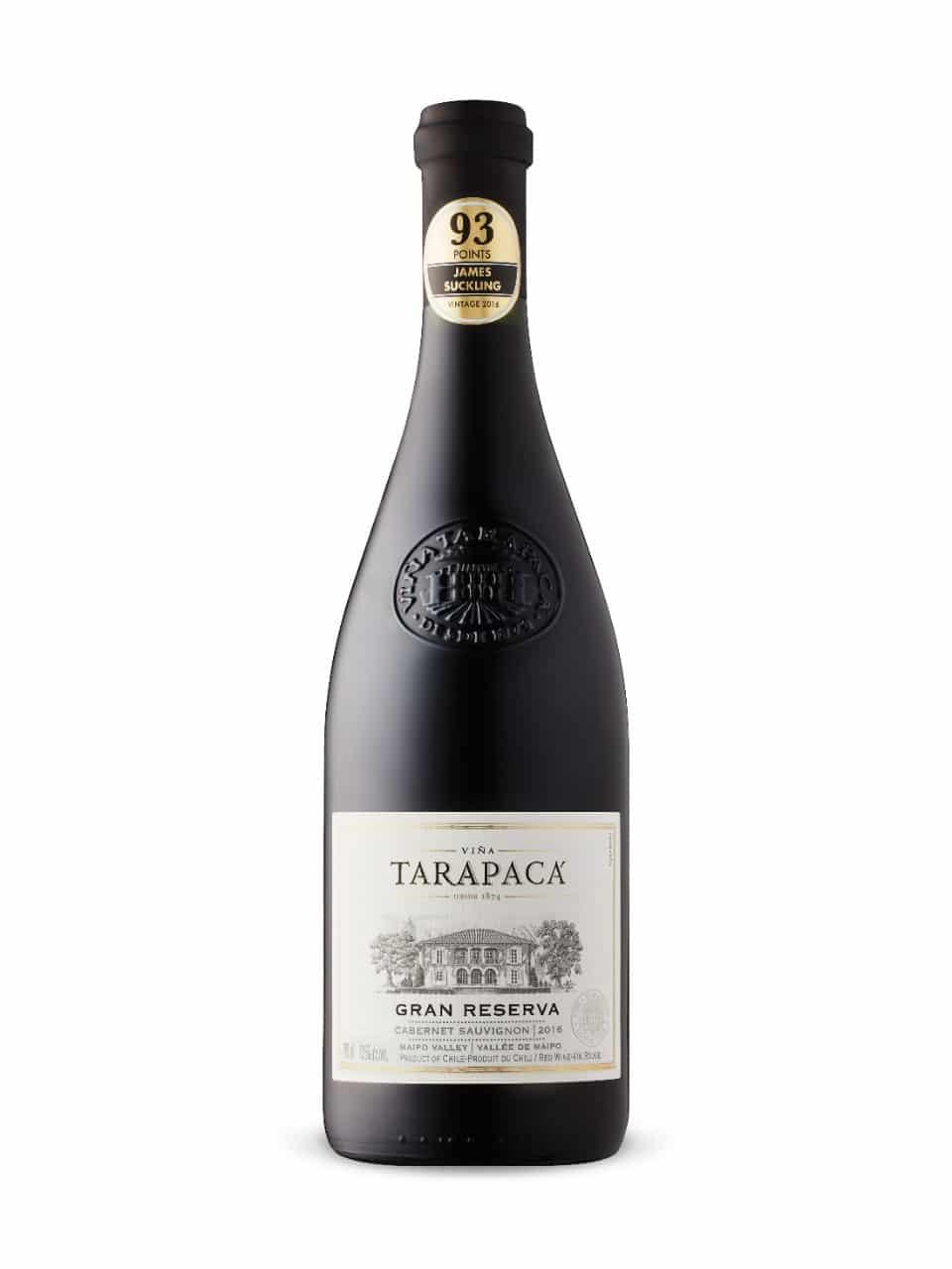 $17.95 - Tarapacá Gran Reserva Cabernet Sauvignon 2016