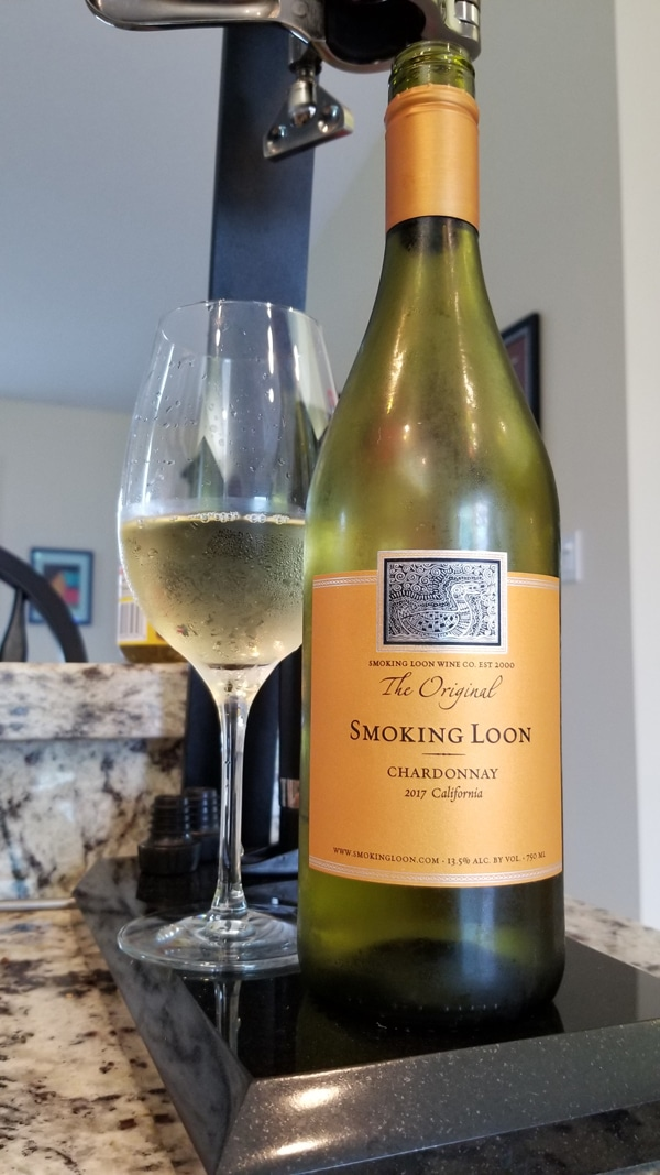 $14.95 - Smoking Loon Chardonnay