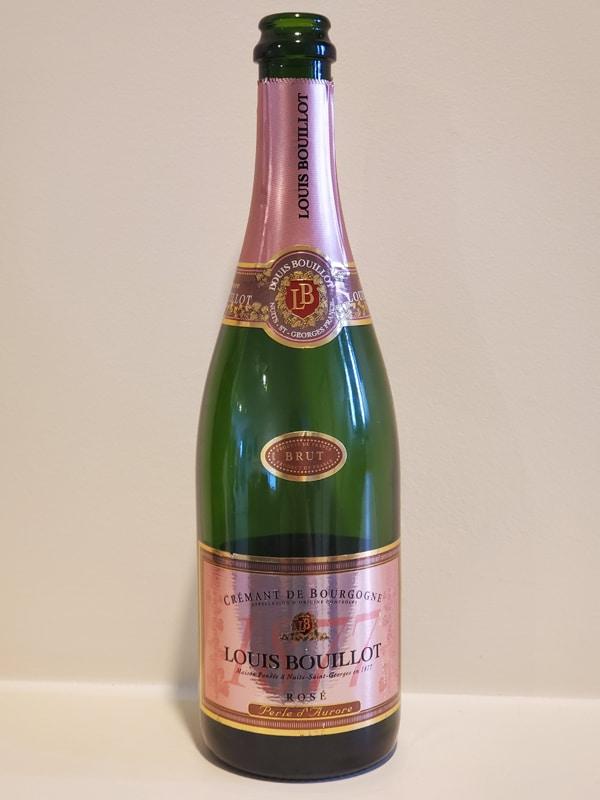 $21.95 - Louis Bouillot Perle d'Aurore Brut Rosé Crémant de Bourgogne