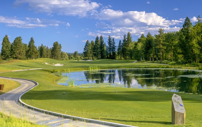 Hole 17 – Circling Raven Golf Club, Idaho