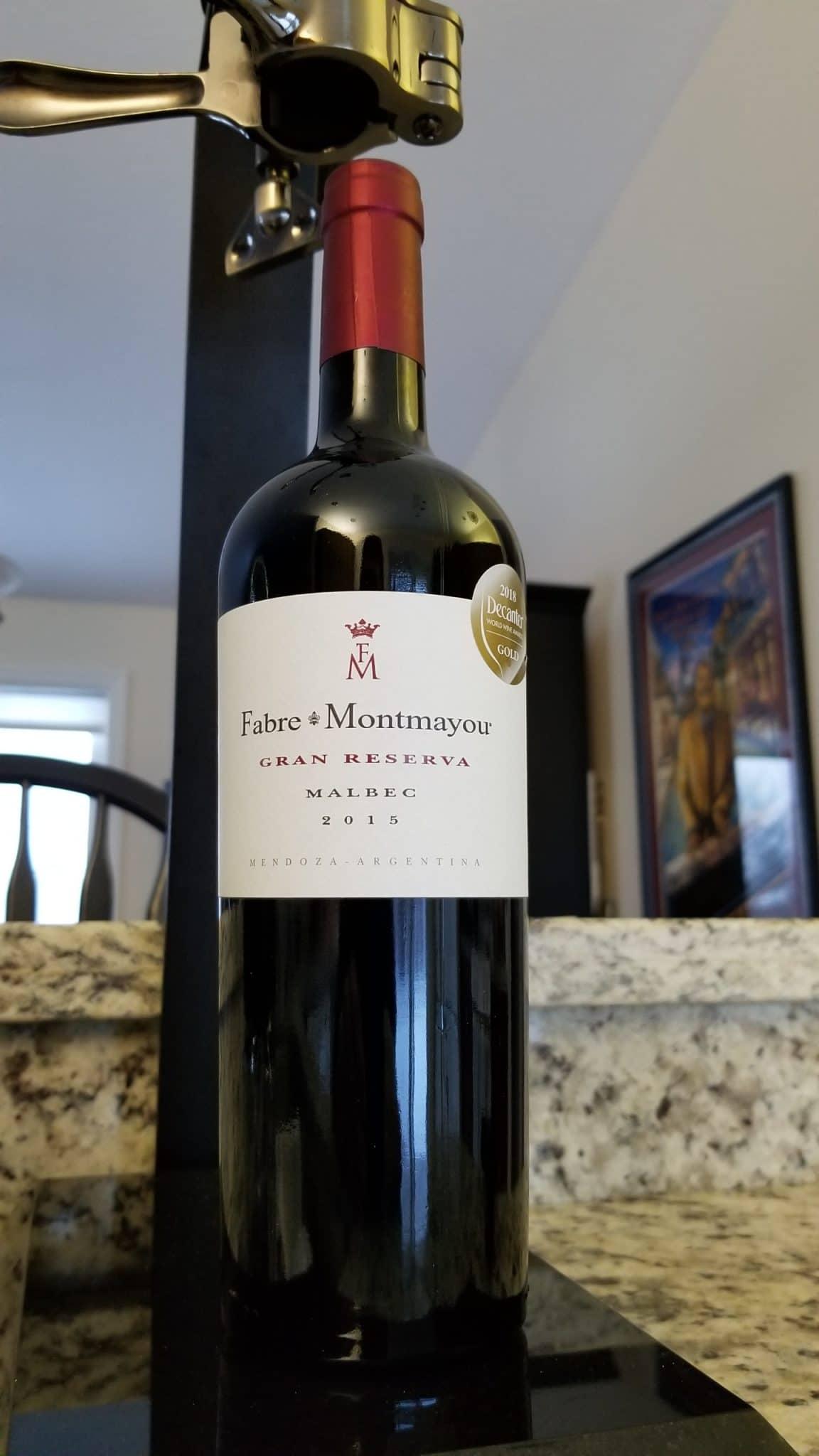 $24.95 - Fabre Montmayou Gran Reserva Malbec 2015