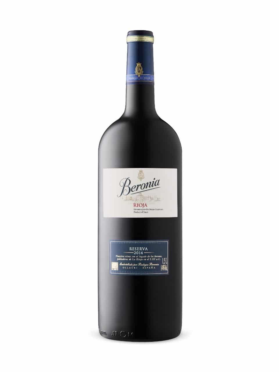 $21.95 - Beronia Reserva 2014