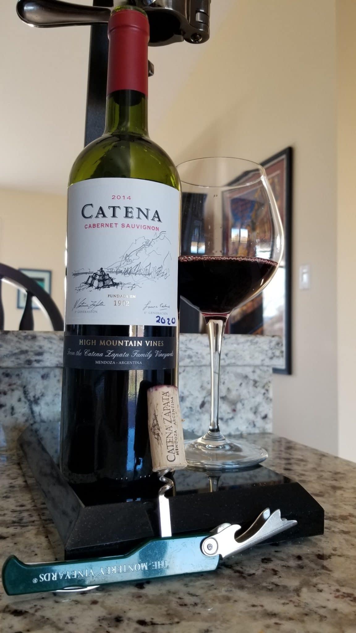 $19.95 - Catena Cabernet Sauvignon