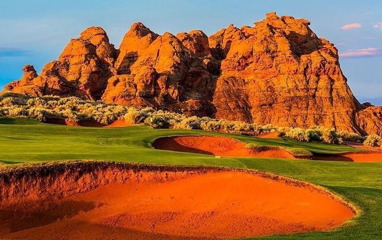 Red Rock Golf Trail in St. George, Utah