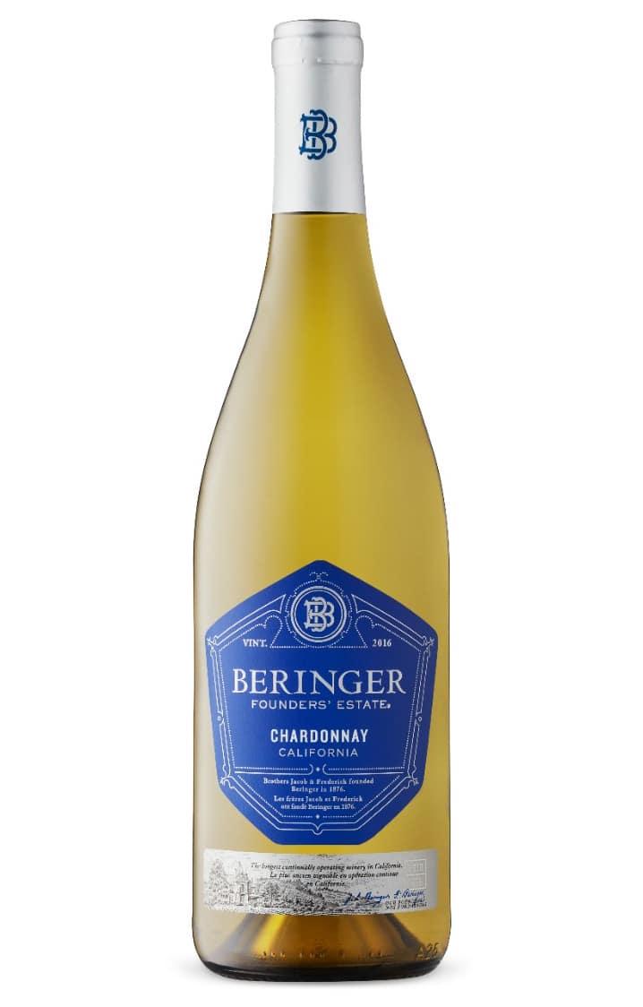 $16.95 - Beringer Founders' Estate Chardonnay 2018