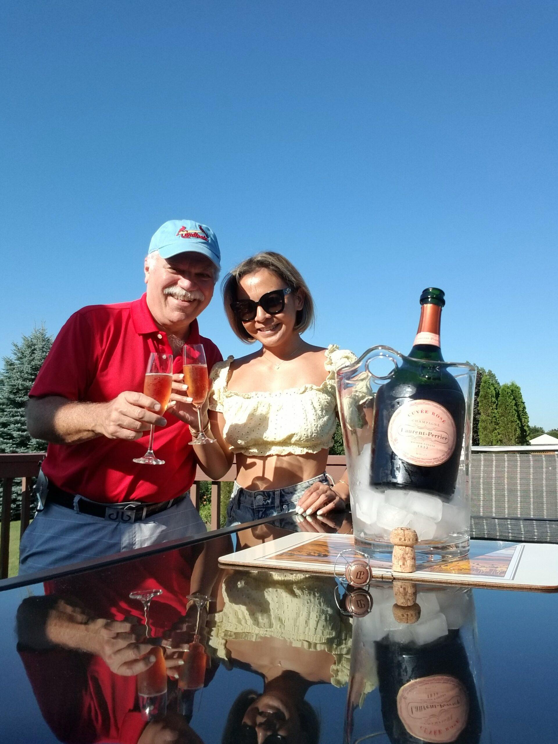 $174.55 - Laurent-Perrier Cuvée Rosé Brut Champagne 1,500 ml