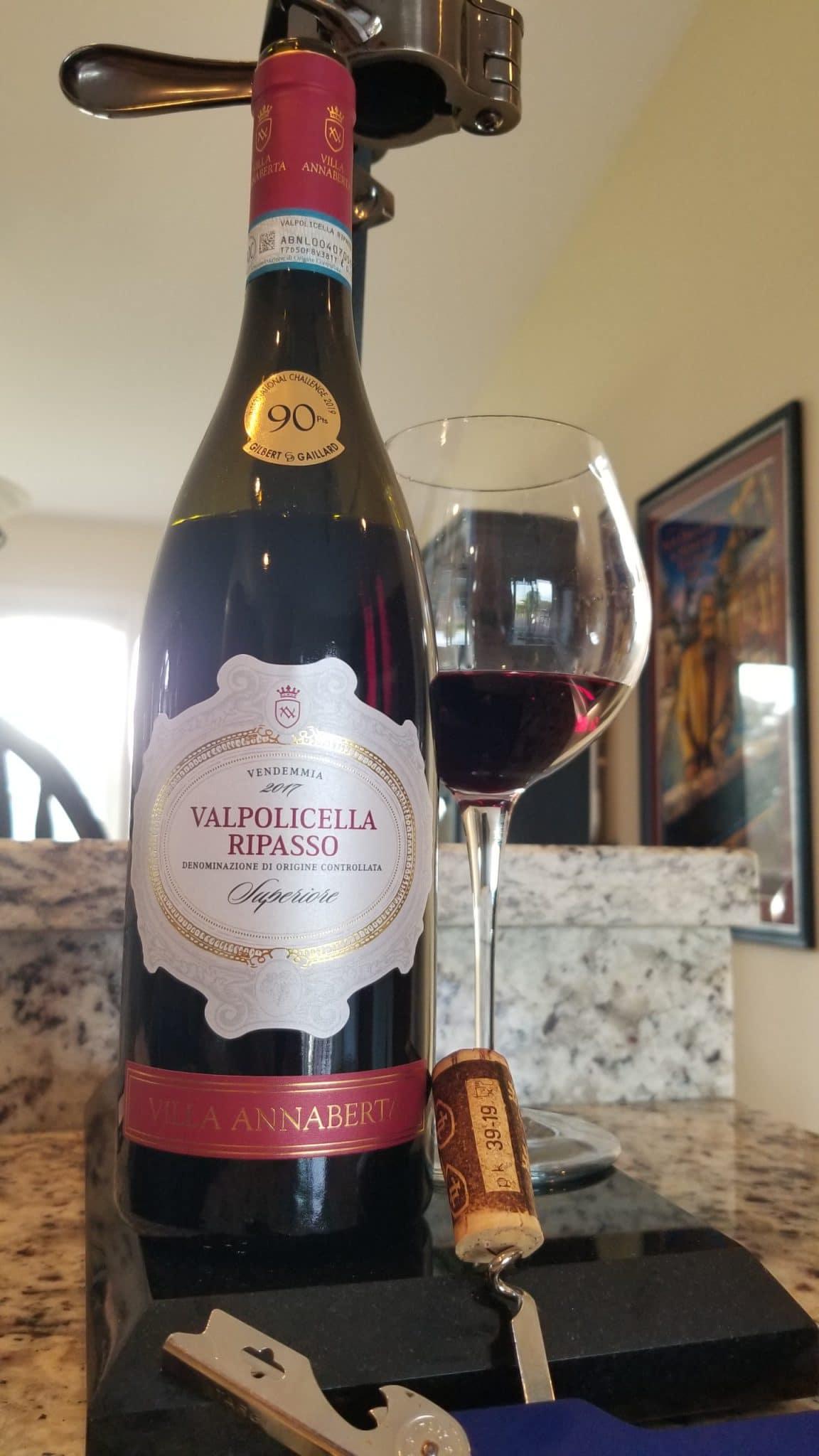$18.35 - Villa Annaberta Valpolicella Ripasso Superiore 2017