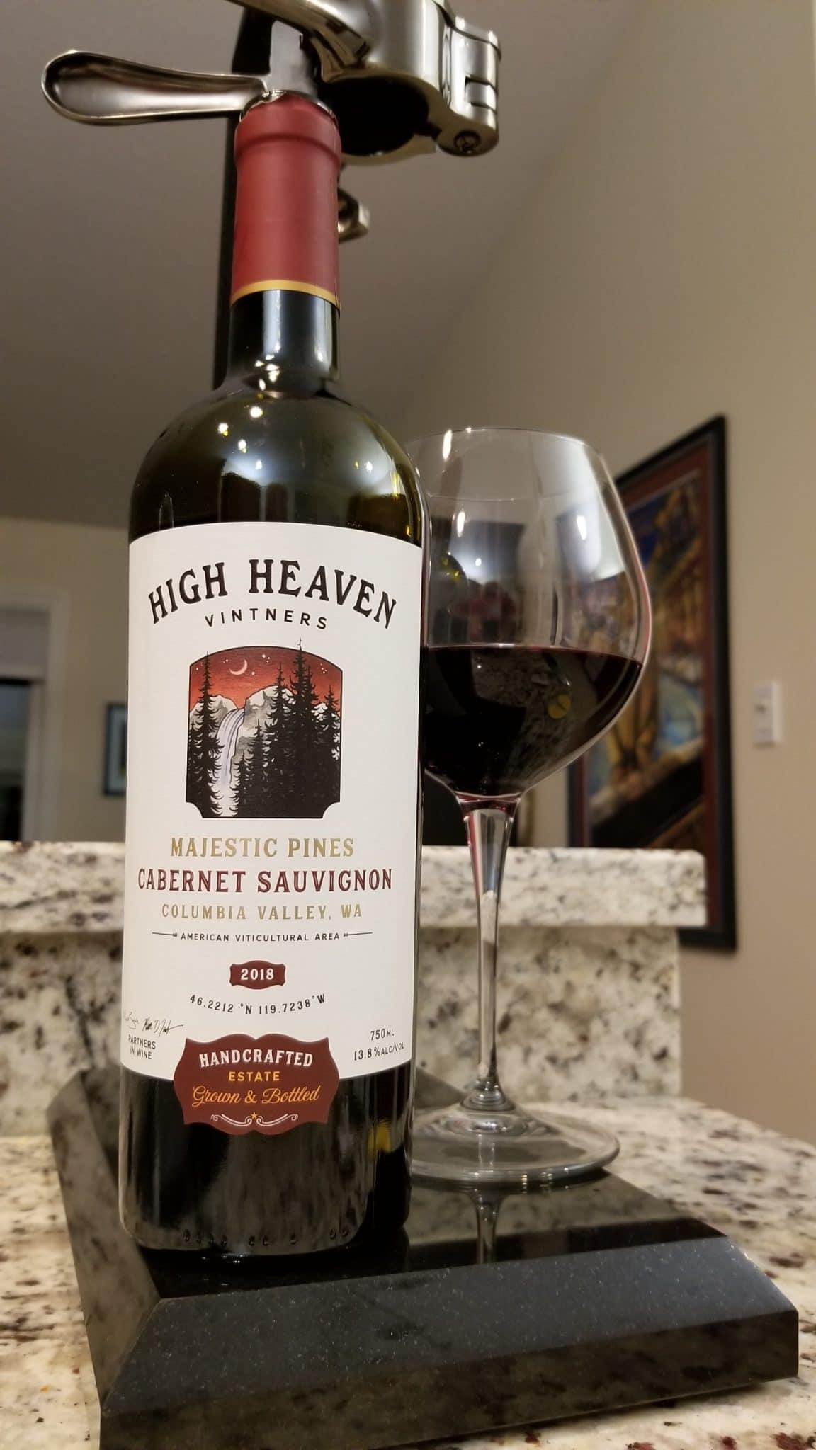 $19.95 - High Heaven Majestic Pines Cabernet Sauvignon 2018