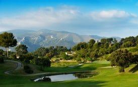Hole 15 at Marseille La Salette Golf Course, France